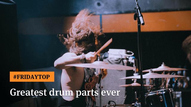 【エンタメ画像】読者が選んだ「歴代最高のドラムパート TOP30」をUltimate Guitarが発表